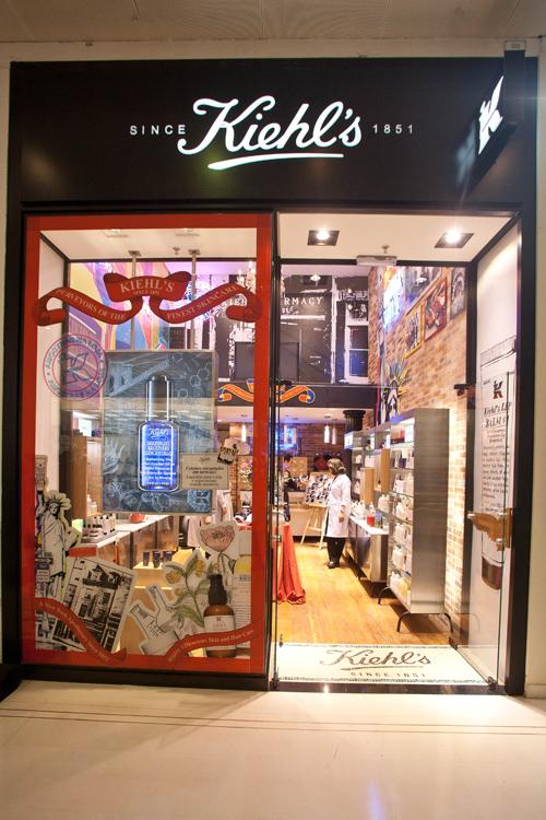 A 2ª loja brasileira da Kiehl's fica no shopping Higienópolis, em SP