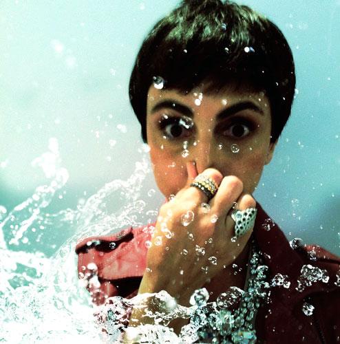 Nem a Lilian resistiu ao calor e arranjou um tempinho pra um mergulho!