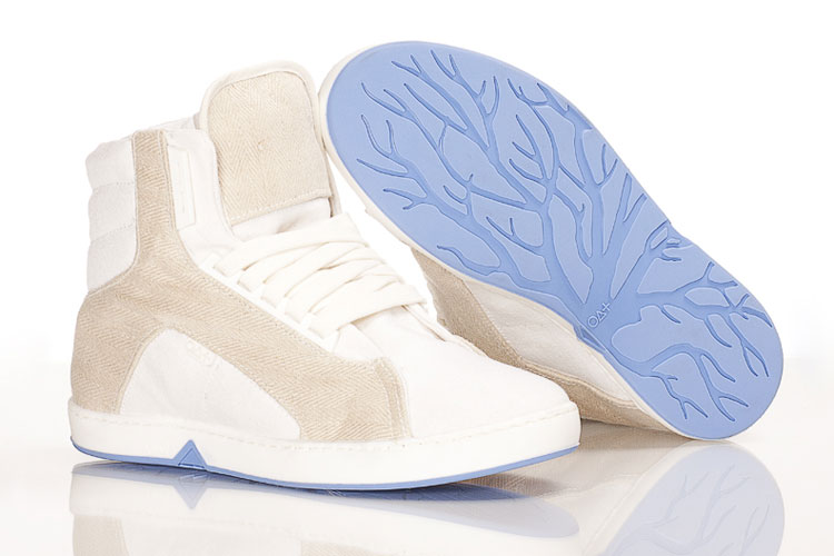 Tênis ecológicos da Oat Shoes: tem com cano alto (€ 149)