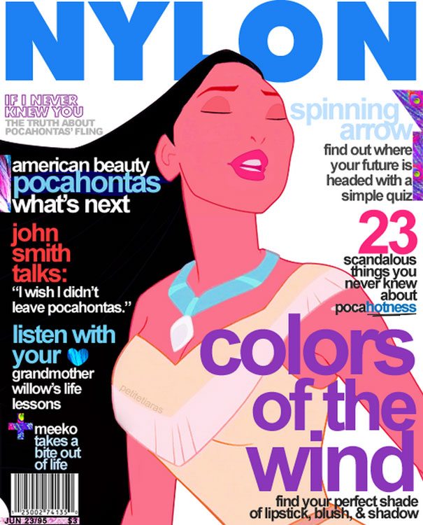 """Nylon. Beleza americana: Pocahontas"""