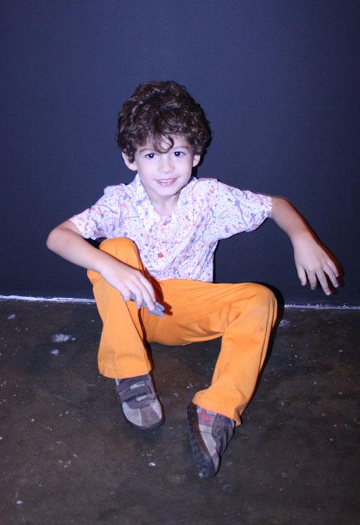 Theo, 4 anos. Porque criança também é fashion!