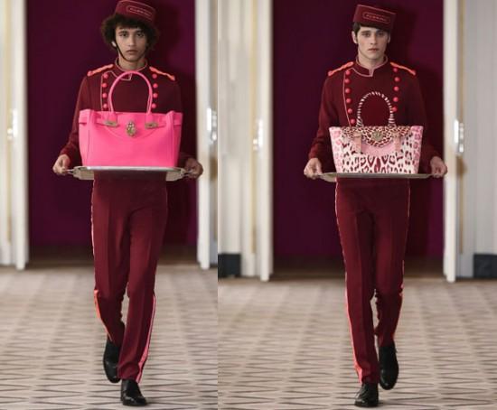Estas são a Happy Handbag e a Happy Satchel...