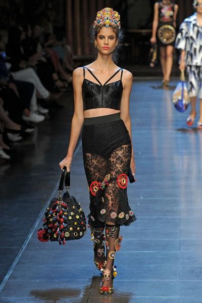 Dolce   Gabbana primavera-verão 2016 - Lilian Pacce 1d92cd984b