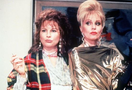 """Edina e Patsy são as personagens principais de """"Absolutely Fabulous"""": irresponsáveis, fúteis e muito engraçadas"""