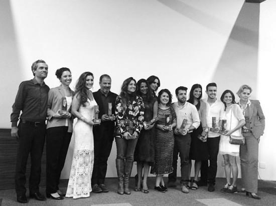 Os ganhadores e homenageados da 1ª edição do Prêmio Ecoera