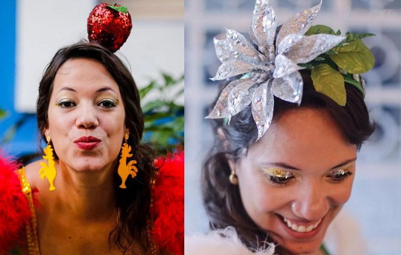 Resultado de imagem para look e cabeça carnaval de rua 2018