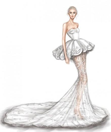 ee5ecd40a1 Desenhos para inspirar noivas de todos os tipos