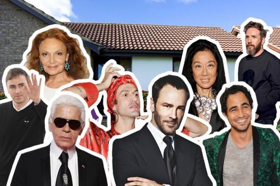 Será que você consegue acertar quem mora onde? Abre a nossa galeria e vem descobrir como vivem os fashionistas!