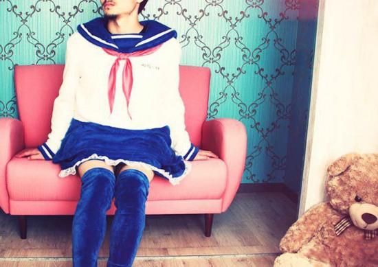 Uma marca japonesa lançou um pijama diferente pros rapazes - vem ver mais na galeria!
