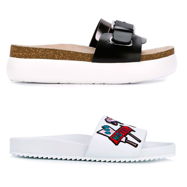 95116f0fd3 Tendência pros pés  sapatos com sola branca!
