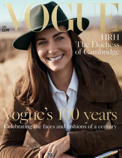 Kate Middleton acaba de ser anunciada como a capa de junho da