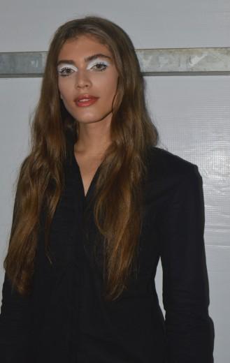 Clica aqui e veja mais da Valentina Sampaio, que está bombando no SPFW!