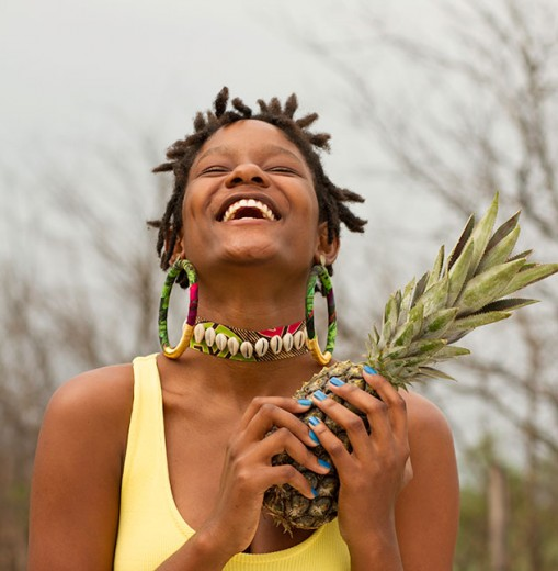 A Quixotesca está mergulhada na temática africana! Choker (R$ 60) e brinco estampado (R$ 30) - clica na foto pra conferir mais!