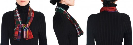 Esse é o lenço que a Gloria Coelho criou pros convidados do seu desfile! Clica pra ver mais