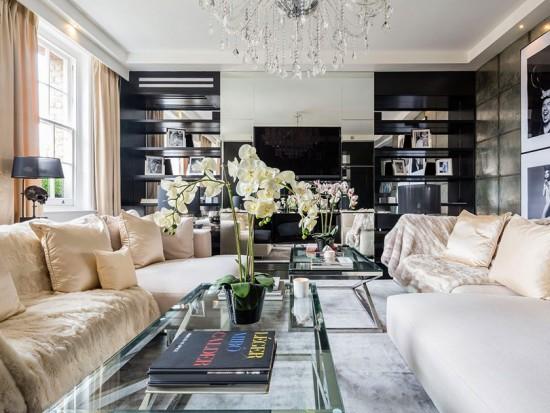 Vem conhecer o apartamento que era de Alexander McQueen. Clica na foto!