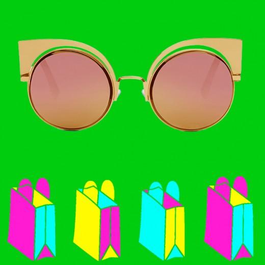 15 óculos espelhados pra dar e ganhar de Natal! - Lilian Pacce 60cafef3df
