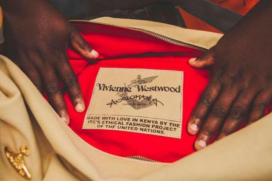 """Vivienne Westwood se une ao """"Ethical Fashion Initiative"""" pra nova leva de bolsas - clica pra conferir!"""