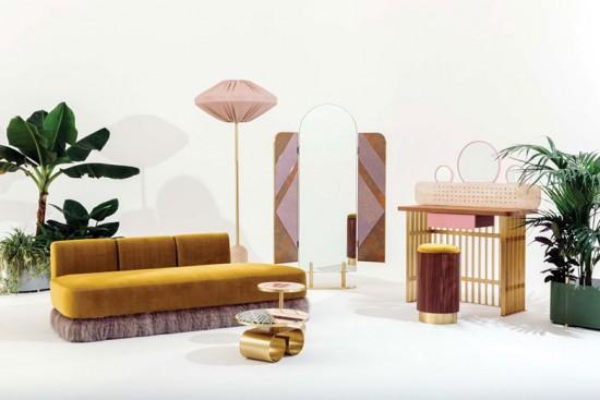 Olha o ambiente da Fendi no Design Miami, curte? Clica pra ver mais dele - e de outros!