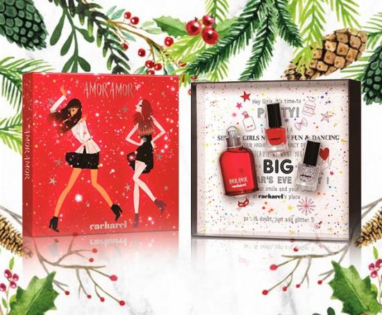 """Conjunto Amor Amor da Cacharrel, com perfume e dois esmaltes - fora a embalagem linda, né? <a href=""""http://click.linksynergy.com/fs-bin/click?id=N0rJZDSv9hA&subid=&offerid=429923.1&type=10&tmpid=20543&RD_PARM1=http%3A%2F%2Fwww.sepha.com.br%2F%2Fkit-perfume-amor-amor-edt-50ml-duo-esmaltes-5ml-feminino-cacharel-25215.html"""" target=""""_blank"""">À venda na Sepha por R$ 299</a>  - clica pra ver mais!"""
