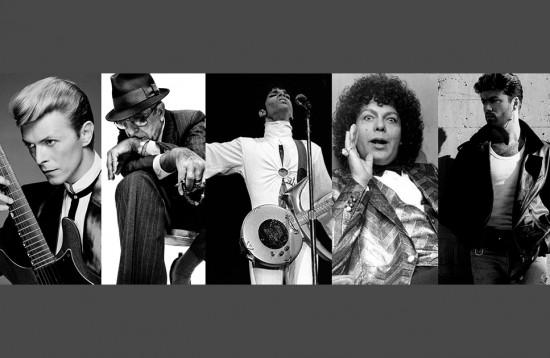 RIP David Bowie, Leonard Cohen, Prince, Cauby Peixoto e George Michael. Clica na foto pra relembrar o estilo desses cantores