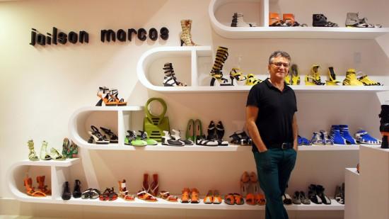 Esse é o Jailson Marcos, que inaugura sua nova loja no Rio nesse mês! Clica pra ver