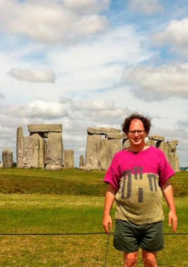 Esse é o Sam Barsky! Um clique em Stonehenge, no Reino Unido. Clica pra ver mais!