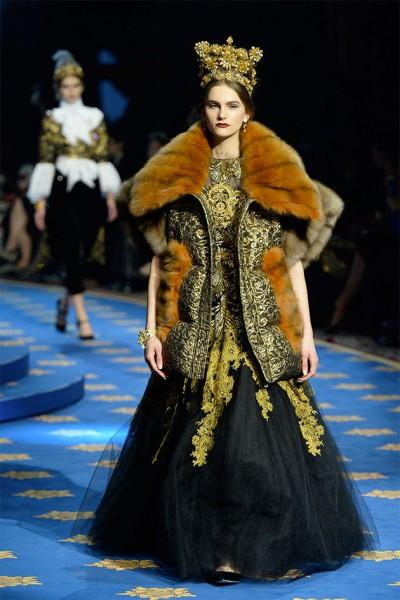 Dolce   Gabbana Alta Moda primavera-verão 2017 - Lilian Pacce 21d940f2ceb