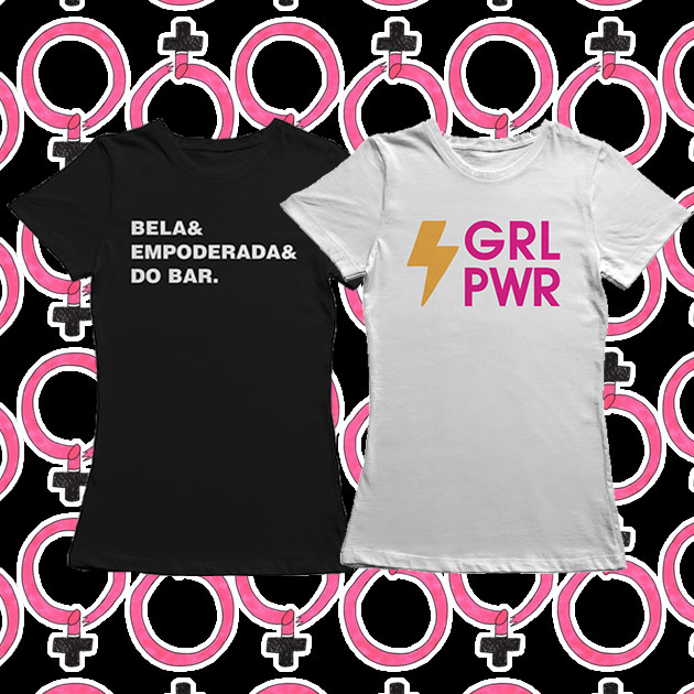 afd4c6fed43b6 Camisetas feministas pro Dia Internacional da Mulher! - Lilian Pacce