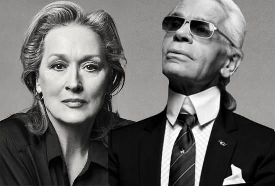 Meryl Streep ia usar Chanel no Oscar, até que recebeu uma proposta de outra marcam disposta a pagá-la. Karl Lagerfeld botou a boca no trombone e contou tudo!