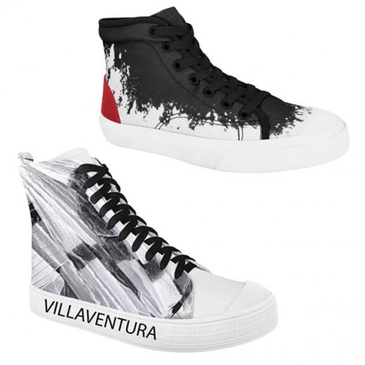 Olha só os sapatos estampados por Lino Villaventura, em parceira com a Ramarim! Clique e veja mais
