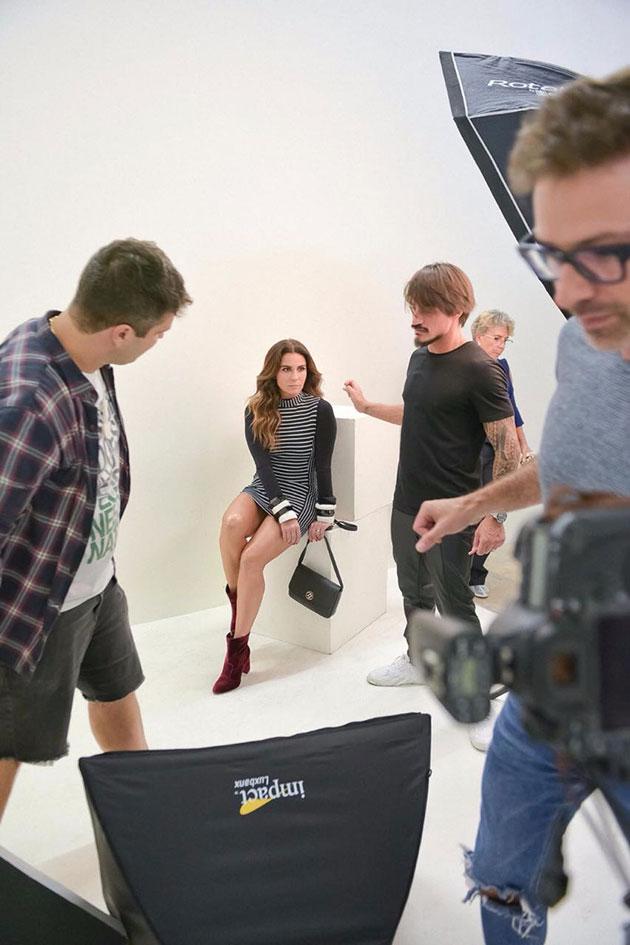 dc5d352e2 Making of da Zattini com Giovanna Antonelli! - Lilian Pacce
