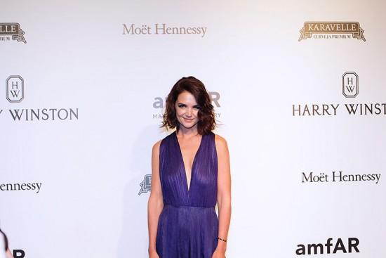 A atriz Katie Holmes foi a convidada especial da noite - vem ver mais!