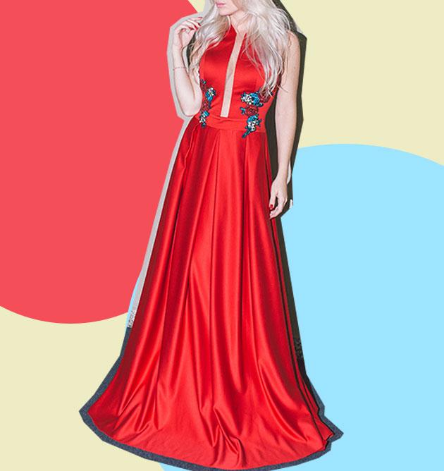 Verde, amarelo ou vermelho: 13 vestidos de festa direto do ...