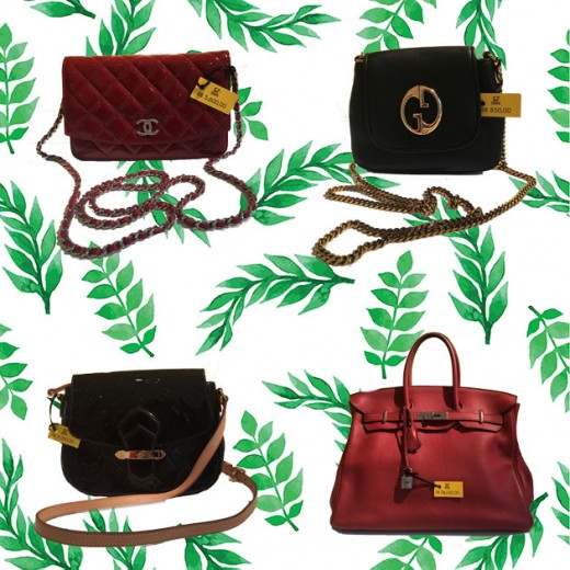 Bolsas de grife á venda no Bazar da Casa Hope! Chanel (R$ 5.600), Gucci (R$ 850), Louis Vuitton (R$ 2.000) e Hermès (R$ 28.000). Vem ver mais!