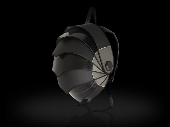 As bolsas da Pangolin tem design bem futurista - clica na galeria pra ver mais!
