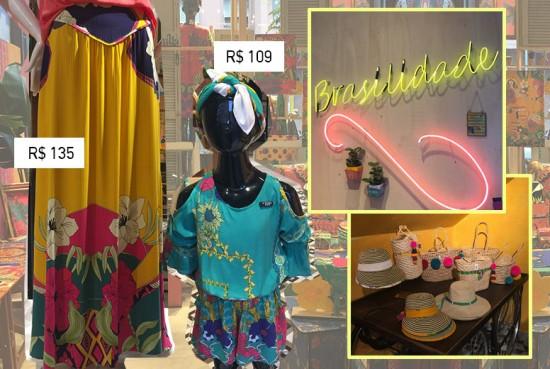 A Malagueta é conhecida por suas estampas coloridíssimas à Farm. A loja é linda e você encontra roupas, acessórios e até artigos pra casa - vale a pena conhecer! Clica na foto pra ver mais!