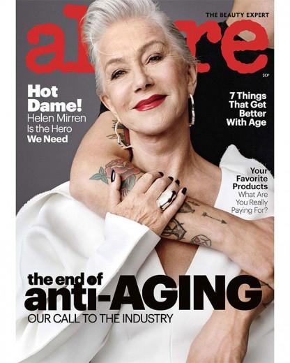 """Helen Mirren maravilhosa na capa da """"Allure"""" - vem ver mais!"""