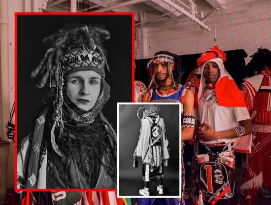 Projeto Estufa e Centro-br trazem ao SPFW performance da artista russa Maria Zazakova da Jahnkoy