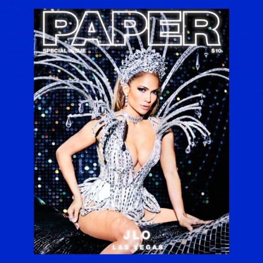 """Showgirl: J-Lo na capa da """"Paper""""! Vem ver mais!"""