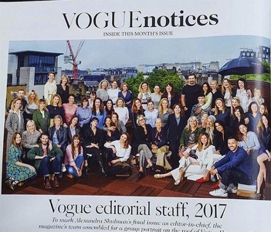 """A equipe da """"Vogue"""" UK: Naomi pede por mais diversidade"""