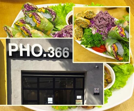 O restaurante vietnamita Pho.366 é especializado em uma sopa de macarrão de arroz chamada pho e suas variações - clica na foto pra ver mais!