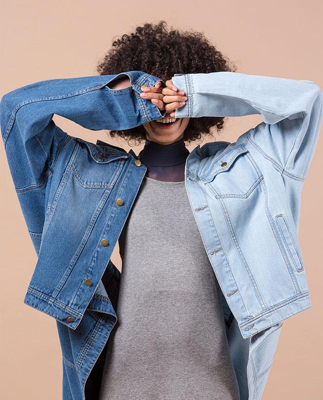 91900e0c03190 Jeans reciclado da Ahlma com a Vicunha!