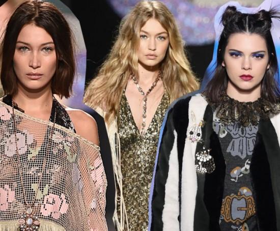 Bella Hadid, Gigi Hadid e Kendall Jenner chocam com novo penteado! Vem ver...