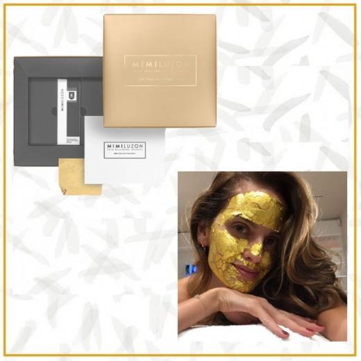 A máscara 24k da Mimi Luzon é a queridinha das celebs (U$ 299, aproximadamente R$ 940) - vem ver mais!
