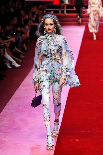 Dolce   Gabbana primavera-verão 2018 - Lilian Pacce 370595f437