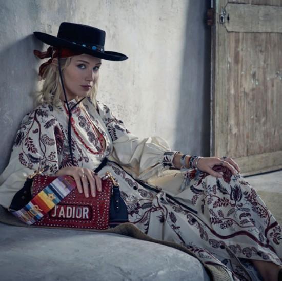 Jennifer Lawrence bela pra nova campanha da Dior - Vem ver!
