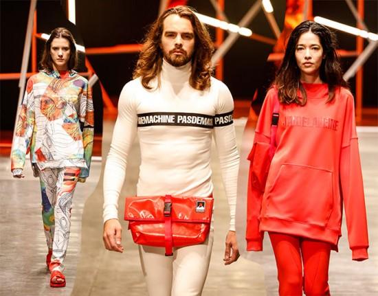 """A Veine de Erich Zelazowski foca na gíria """"J'aide la veine"""" (algo como """"eu sou o cara"""") pra um streetwear muito esperto e cheio de personalidade. Vem ver mais do ID Fashion!"""
