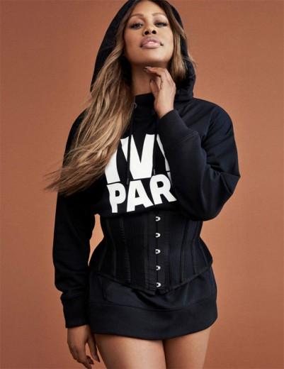 Laverne Cox é um dos rostos da nova campanha da Ivy Park, a marca de Beyoncé