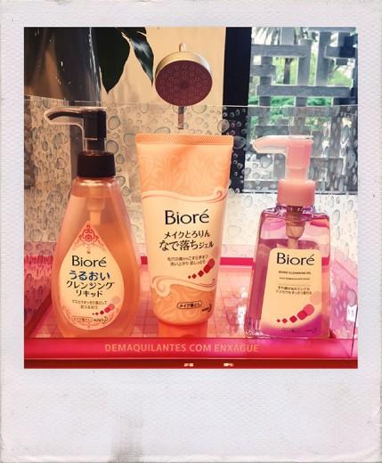 A linha de limpeza facial da Bioré chega ao Brasil - vem saber mais!