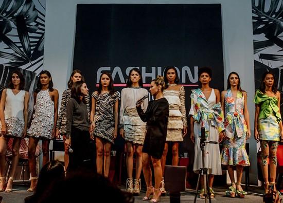 Na edição anterior do Fashion Meeting, Patricia Bonaldi mostrou a roupa da PatBo e conversou com a Silvana Holzmeister